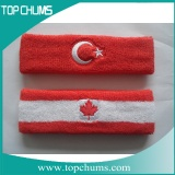 red white and blue sweatband sbd1018