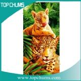 leopard beach towel bt0264