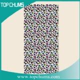 zebra print beach towel bt0340  lepord