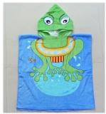 hooded baby beach towel ht0062b