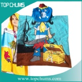 hooded towel poncho ht0065