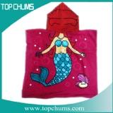mermaid hooded towel ht0028