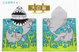 hooded beach towel for kids ht0009b