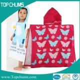 kids hooded poncho towel ht0005a