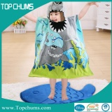 poncho hooded towel ht-0007
