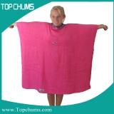 childrens poncho towel ht0019