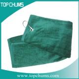 lime green golf towel