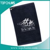 monogrammed golf towel st0003
