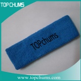 blue sweatband