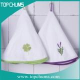 round kitchen hand towel