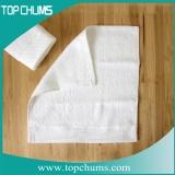 plain white cotton tea towel br0193b
